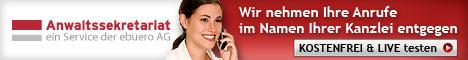 Anwaltssekretariat - Telefonservice f?r Anw?lte und Notare