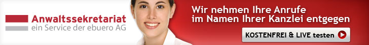 Anwaltssekretariat - Telefonservice für Anwälte und Notare